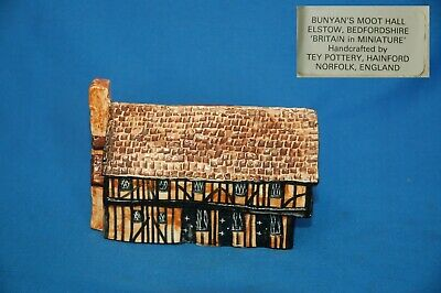 Bunyan's Moot Hall, 'Britain In Miniature' Handpainted By Tey Pottery • 5.99£