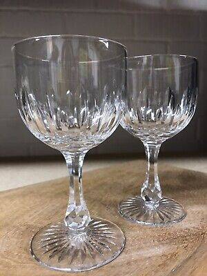 Crystal Small Wine Glasses - Pair • 8£