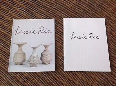 Lucie Rie Galerie Besson Exhibition & Centenary Celebration Brochures  • 4.99£
