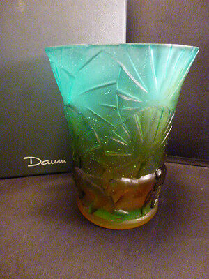 Daum  Vase Monkey   6       #  3884    Signed And Numbered   Nib   • 783.45£