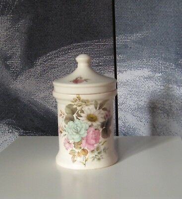 Decorative Collectable Purbeck Floral Pottery Ceramic Storage Jar • 7.50£