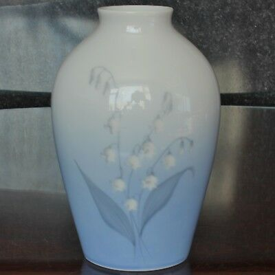 Vintage Bing & Grondahl LILY Of The VALLEY Design Vase, 7 , 157/5239 • 29.99£