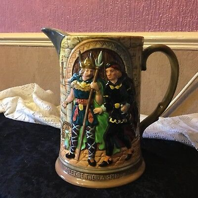 Large Beswick Jug Hamletbprince Of Denmark • 24£