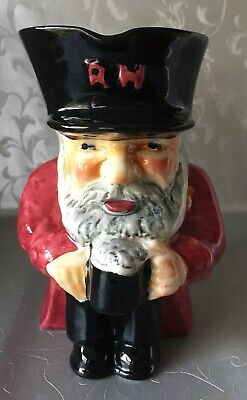 Genuine Toby Jug Shorter&Son Staffordshire England HandPainted Chelsea Pensioner • 17£