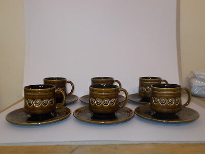 6 X Sylvac Cups And Saucers Vintage Lovely • 14.95£