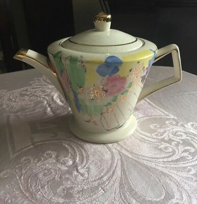 Pretty Vintage Made In England Art Deco Teapot New Price • 18£