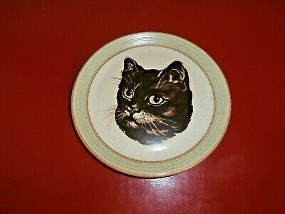 Purbeck Pottery Cat Plate • 15£