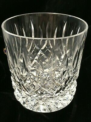 STUART CRYSTAL SHAFTESBURY WHISKY GLASS 90 Mm - 3 & 1/2   IN HEIGHT • 22£