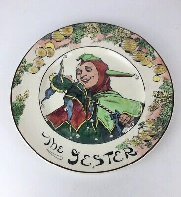 Vintage Royal Doulton Seriesware The Jester Ceramic Collectable Plate • 9.95£