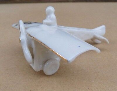 Crested China Monoplane With Integral Pilot - Maldon • 59.99£