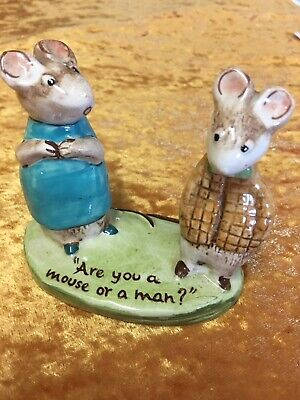 VINTAGE BESWICK KITTY MACBRIDE Mice Mouse Strained Relations #2532 1975-1983 Fig • 27.50£