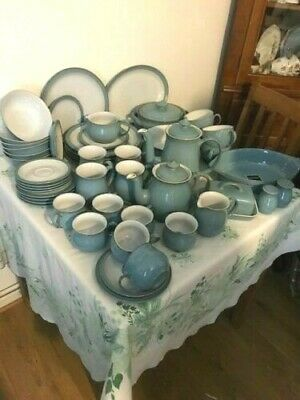 Denby ' Colonial Blue ' Tea Set And Tableware - English Stoneware • 6.99£
