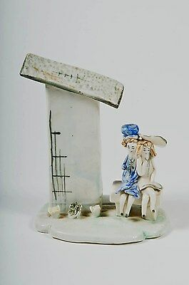 Vintage Lino Zampiva Young Girls On A Bench Figurine • 34.50£