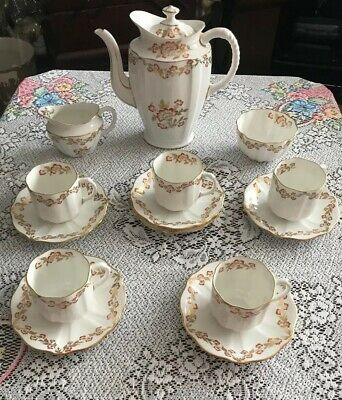 Beautiful Royal Crown Derby Bone China Coffee Set New Price • 40£