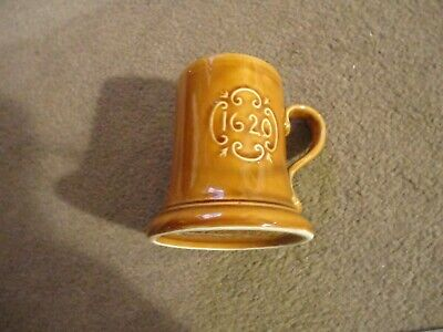 Prinknash Tankard With 1620 On The Side-appears Unused-great Cond. 4 Inches Tall • 9.99£