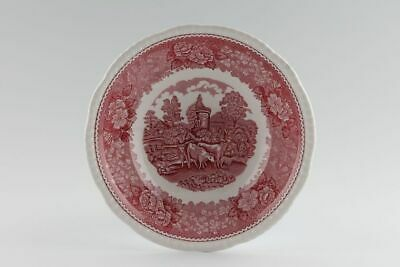 Adams - English Scenic - Pink - Oatmeal / Cereal / Soup Bowl - 245362G • 15£