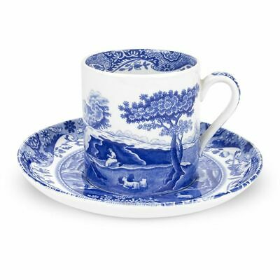 Spode - Blue Italian - Coffee/Espresso Cup And Saucer - 228522N • 22.60£