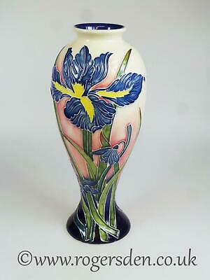 Old Tupton Ware  Tubelined Vase Iris Flower Design 1290  12  Tall • 49.99£