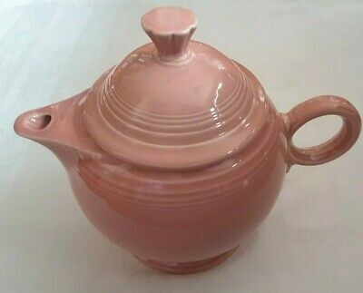Fiesta Fiestaware HLC Large Rose Pink Teapot With Lid Retired  • 25.95£