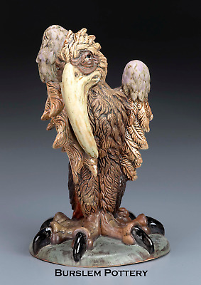 Burslem Pottery Stoneware Grotesque Bird Horace  Inspired By Martin Brothers • 269£