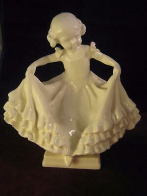 Rare Royal Worcester  Blanc De Chine The Curtsey   RW 3360  Freda Doughty • 33.24£