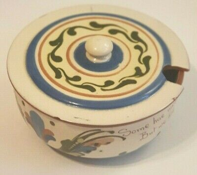 Vintage Made In England Torquay Pottery Devon Pottery Longpark Soup Turrine  • 49.99£