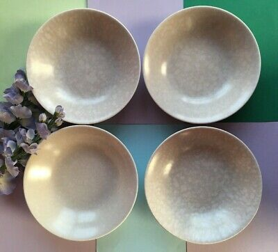Poole Pottery 1959+ Seagull Set Of Four 19 Cm Breakfast Cereal Bowls,Soup Bowls  • 16£