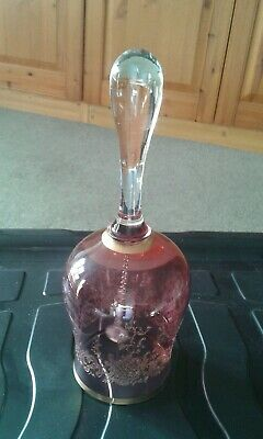 Cranbury Glass Bell 9 Inches High • 20£