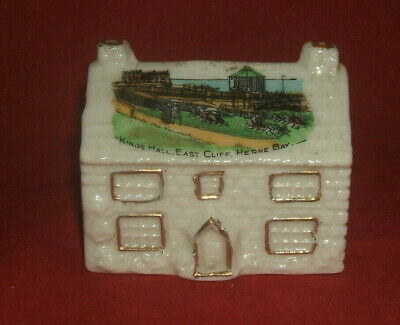 Crested China House British Manufacture Kings Hall East Cliff Herne Bay • 4.99£