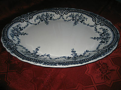 Antigue John Maddock & Sons  Royal Vitreous  Large Platter  C1896 • 24£