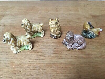 Wade Whimsies (Set 3 - 1972) - Setter / Owl / Otter / Trout • 20£