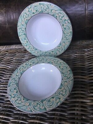 Bhs Valencia Wide Rimmed Bowls X 2 Soup Or Pasta  • 11.99£