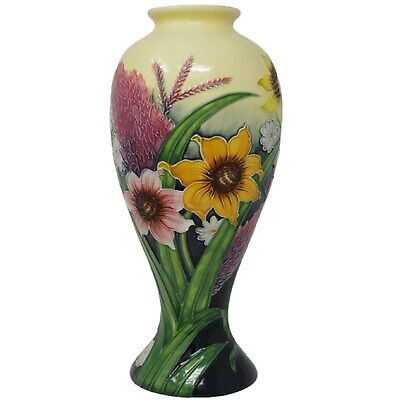 Old Tupton Ware Summer Bouquet Tapering Vase 11  TUP 1121 • 44.95£