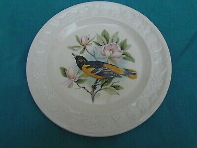 Vintage Royal Worcester Palissy Plate American Bird Series Baltimore Oriole VGC • 4.50£