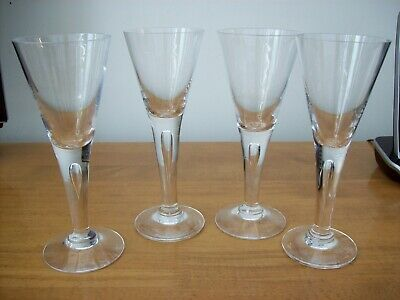4 X Dartington Crystal Sharon 6.5  Sherry Glasses  • 44.99£