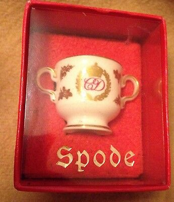 Spode Miniature Porcelain Loving Cup, Royal Collectable Charles And Diana  • 3.95£