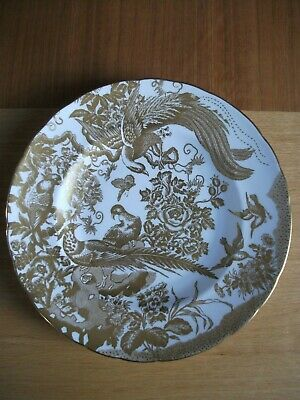 ROYAL CROWN DERBY 'Gold Aves' DINNER PLATE 10  1973  • 79.95£