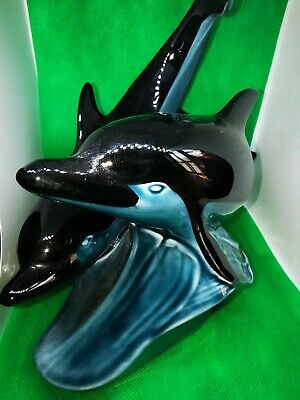 Vintage Poole Pottery Leaping Dolphins  • 18£