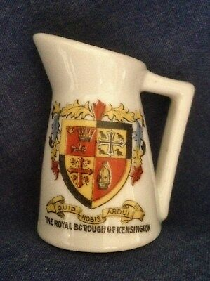 Crested China. The Royal Borough Of Kensington. Jug   (X2) • 3£