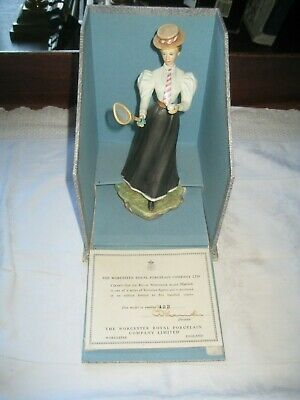 Vintage Royal Worcester Limited Edition 'Marion' Victorian Figure Series • 39.99£