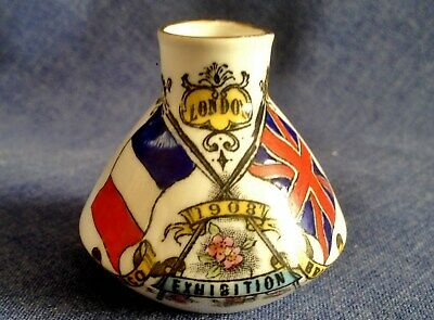 Grafton China. Crested China. Franco British Exhibition. London 1908. (HOL) • 3£
