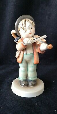 Very Very Rare Hummel Figurine Little Fiddler Hum 2 . For The Serious Collector. • 600£