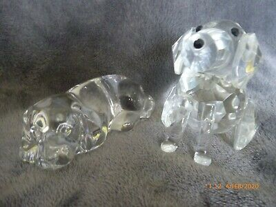 Cut Glass Lead Crystal Dog Dogs Figure Princess House One Other • 10£