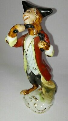 Continental Porcelain Monkey Band Bones Player Figure  ID0735 • 14.95£