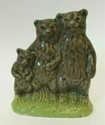 WADE 1970s Large THE THREE BEARS Nursery Favourites Set Four 1976 • 8.99£