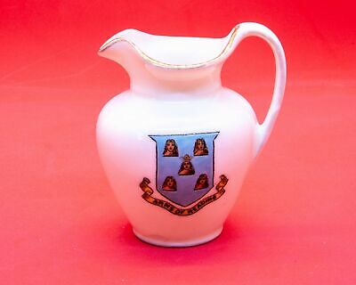 Unknown English Manufacturer Crested China Water Jug Arms Of Reading Crest • 5.99£