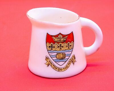 Griffin Crested China Water Jug With Walton On The Naze Crest • 5.99£