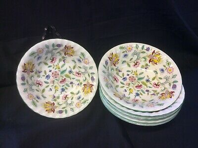 Set Of 6 Cereal Bowls In Haddon Hall Design Of Excellent Quality • 70£