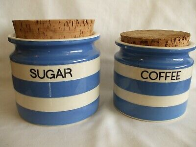 1960s. T G Green. Cornish Ware Storage Jars. Judith Onions. • 25£
