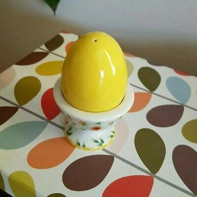 Villeroy And Boch Easter Egg Cup W/ Salt Pot • 5£